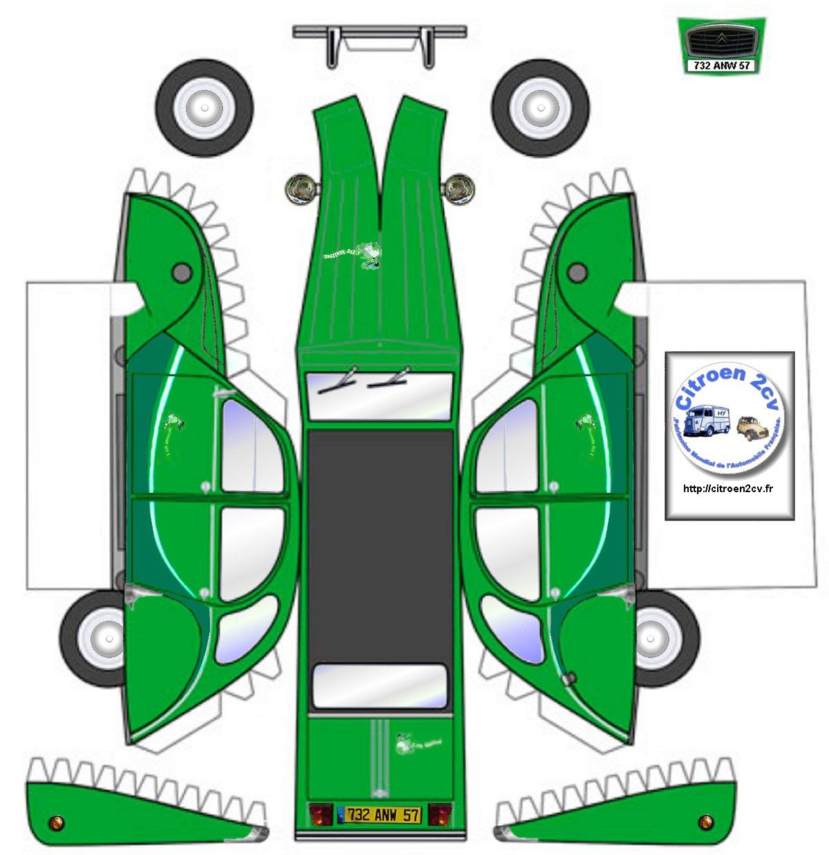 maquette groen